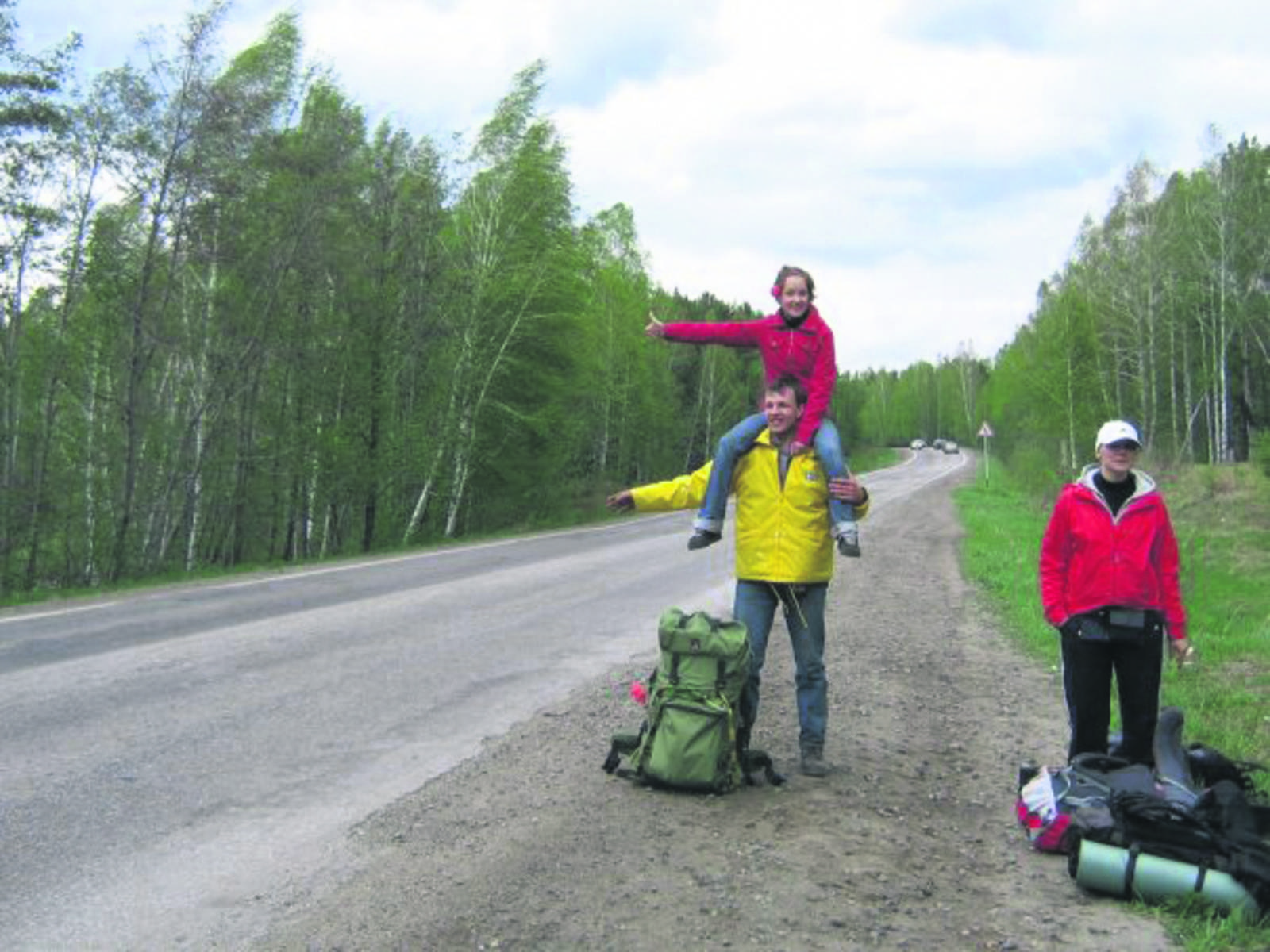 Телка путешествует автостопом фото 22 фотография