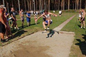 День физкультурника в Бобровском