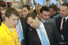 Дмитрий Медведев на Иннопроме-2012