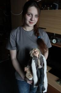 Юля Шабурова с Романтиком