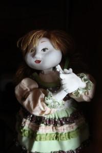 кукла Веснушка