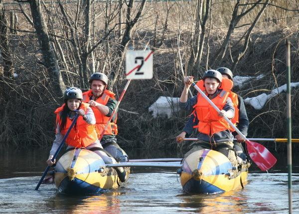 Команда на водной дистанции
