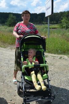 Оксана Игнатенко с бабушкой Мариной