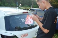 Специальные наклейки для машин уже готовы