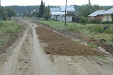 Ремонтируют дорогу