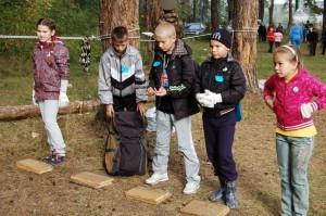 Младшие школьники только осваивают туризм