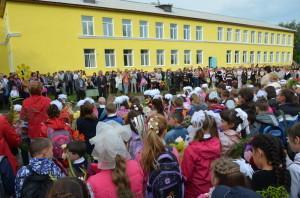 Школа в селе Щелкун