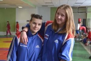 Инна Бирючёва и Анастасия Кадникова