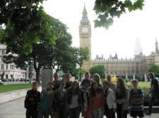 Сысертские школьники в Лондоне