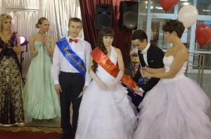 Король и королева бала Николай Келлер и Татьяна Вшивцева