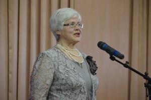 """Первое место в номинации """"Художественное чтение"""" заняла Нина Ивановна Гношева."""
