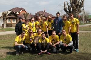 """Фото команды """"Фотостудия"""" взято из социальной сети Вконтакте, автор - А. Печерских."""