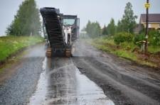 Дорога на подъезде к Кадниково