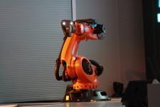 Иннопром 2014 презентацию ведет робот