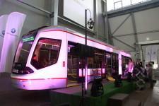 Иннопром 2014 трамвай доступен для колясок
