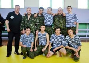Новоиспеченные мастера-кадеты