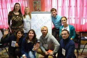 Команда журналистов, разработавших проект молодежного сайта