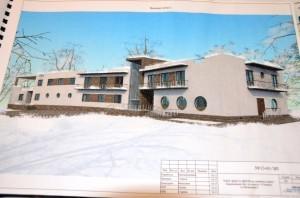 Проект нового здания базы