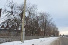 Бобровский на Краснодеревщиков появилось уличное освещение