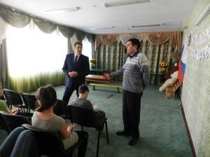 А. В. Трухин и А. В. Сазонов пообщались с воспитанниками Сысертского детского дома