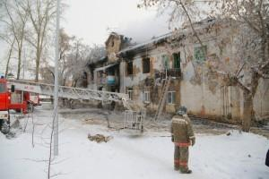 Сгоревший дом по Орджоникидзе, 6а