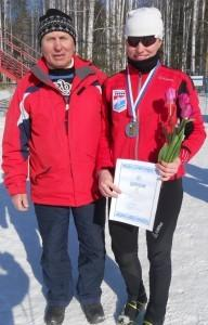 Ю. В. Проскуряков с Настей Колясниковой