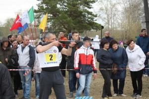 Военизированная эстафета в Двуреченске