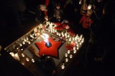 Шествие со свечами в Большом Истоке