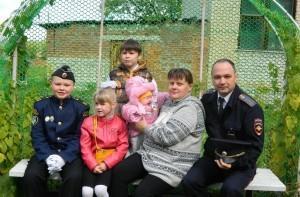 Владимир Ананьин с семьей