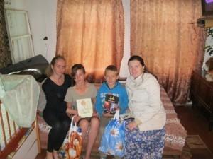 В гостях у многодетной семьи Близнюк