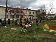 Детская площадка в Кашине