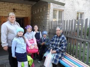 Дети в гостях у М Шестериковой