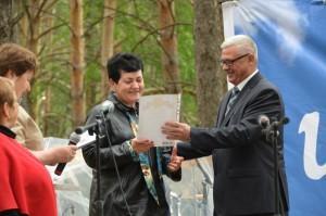 Награждение фельдшера Толмачевой